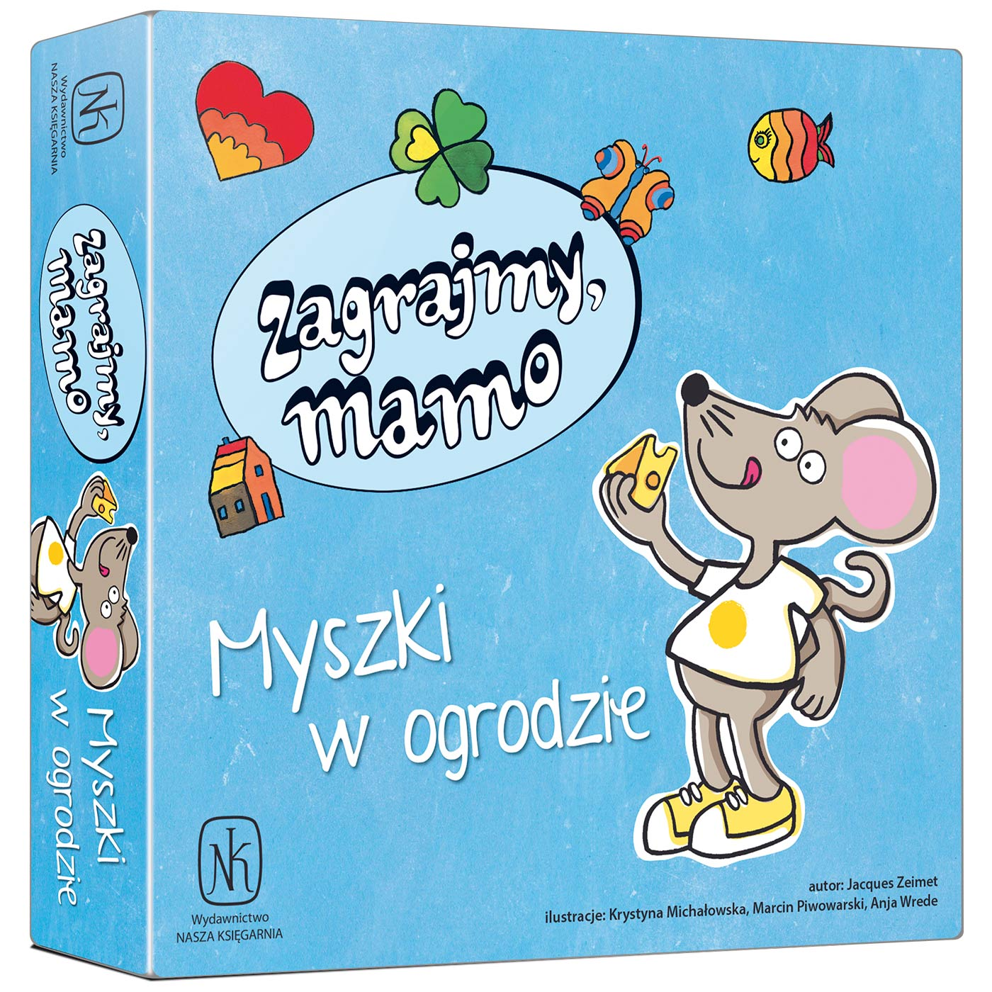 Zagrajmy, mamo – Myszki w ogrodzie