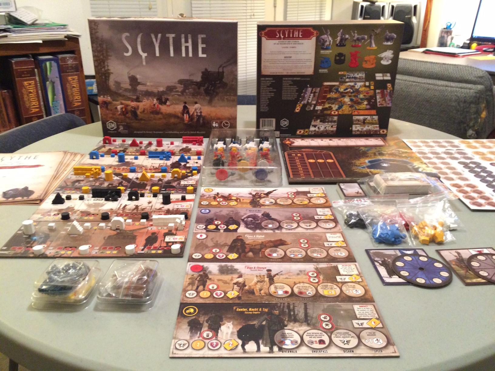 Scythe-komponenty