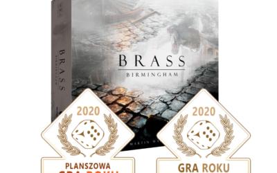 Brass: Birmingham laureatem konkursu Planszowa Gra Roku!